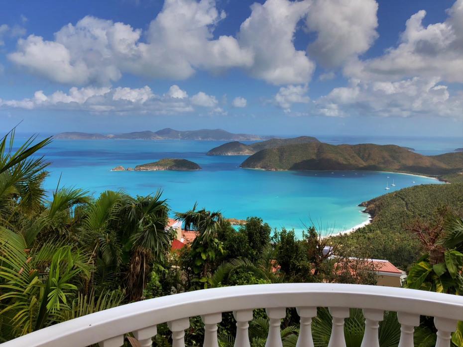 balcony/master suites view