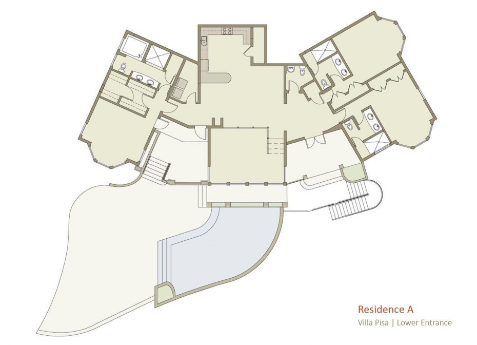 Pisa floorplan