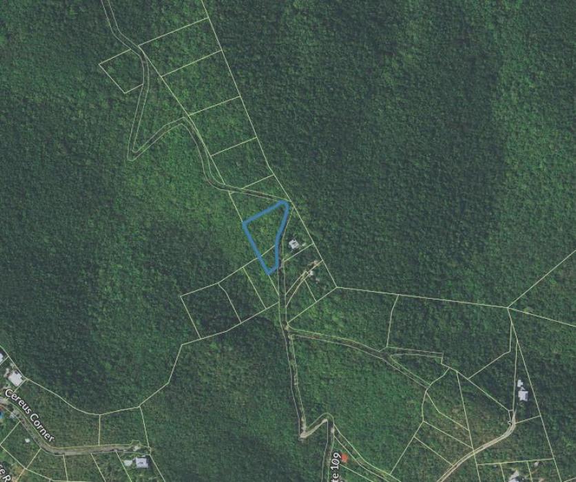 Location of Parcel 5P Rem