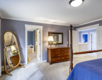 This is a retreat sized and very nicely appointed master suite!