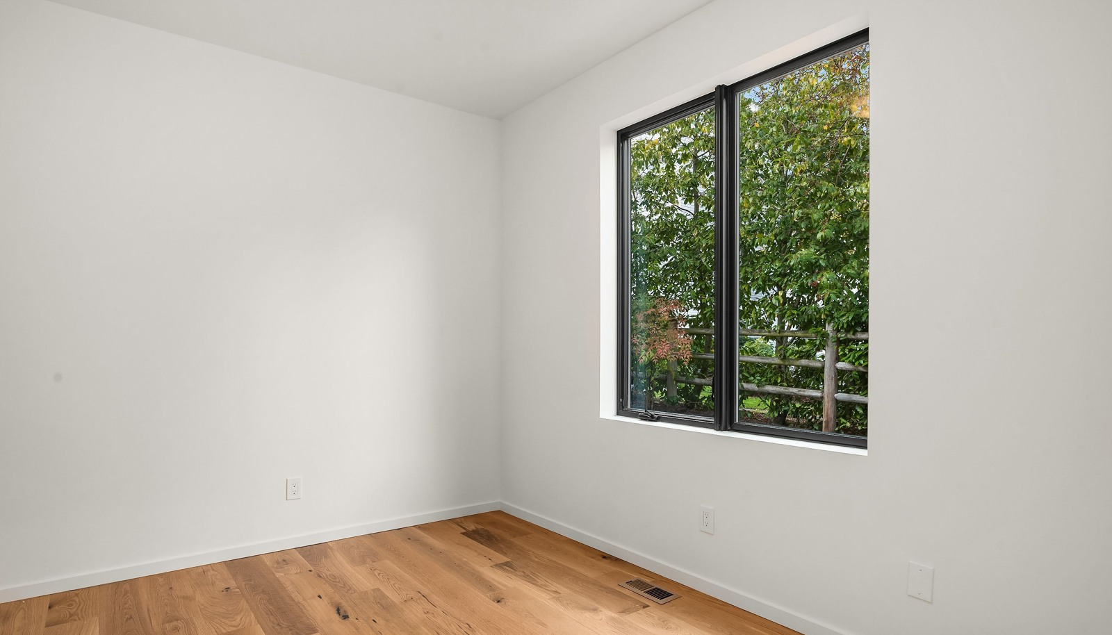 The main level is completed with two bedrooms and a full bath.