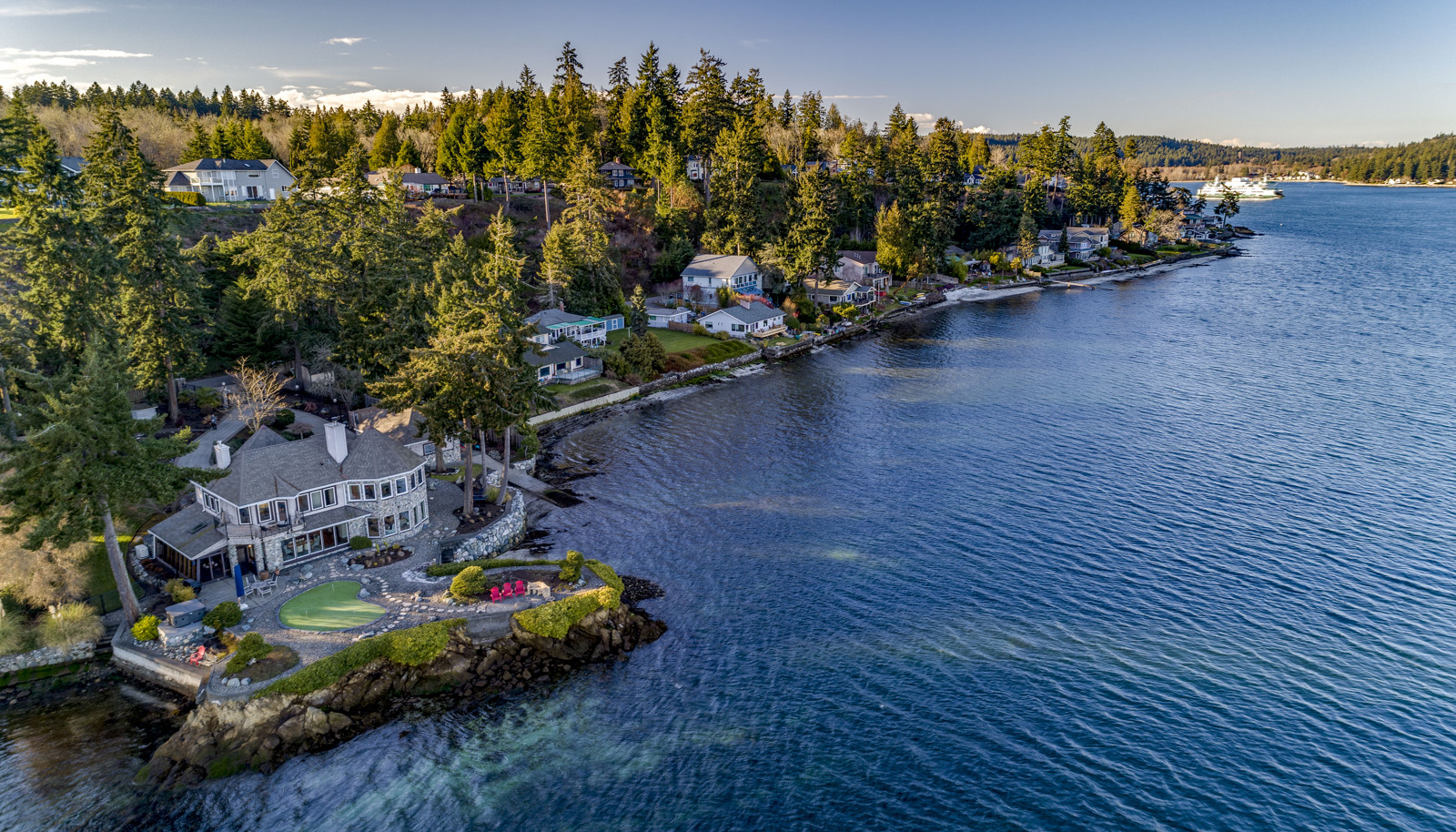 You have likely never seen a waterfront property quite like this! Now there is a direct ferry service to Downtown Seattle from S