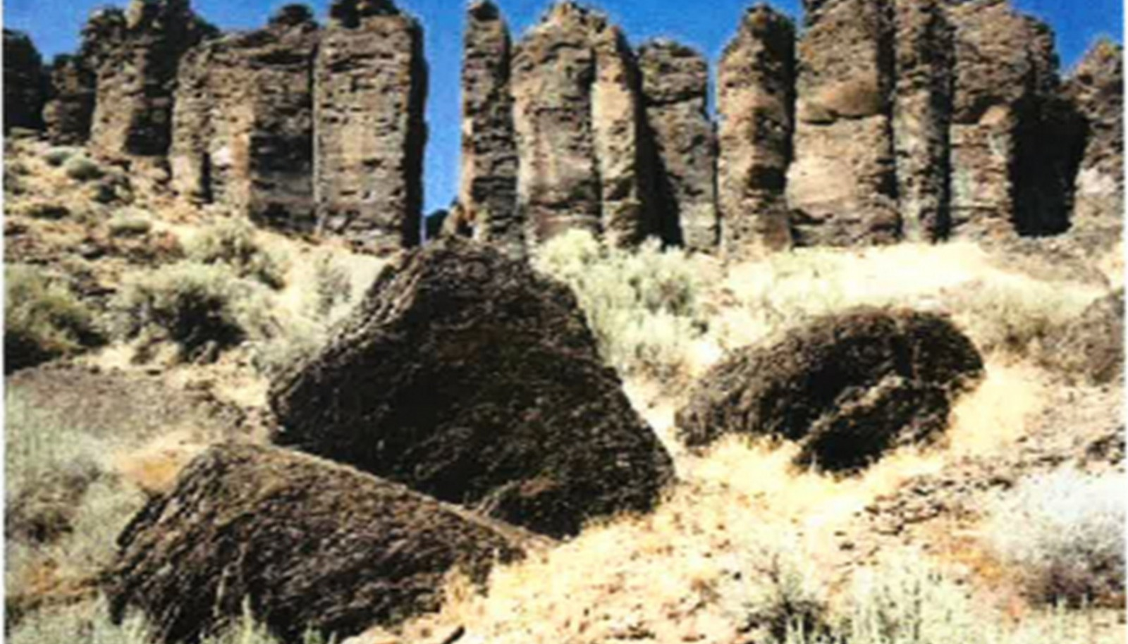 the feathers at frenchman coulee recreation area
